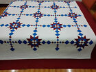 Machine  Pieced King  Queen Twin Lap and Mini size quilts#J-78