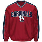 St. Louis Cardinals Jacket Men's Switch MLB Baseball Lightweight Pullover G-III