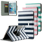 360 Degree Rotating Synthetic Leather Stand Case Smart Cover for iPad Mini 4