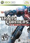 Transformers: War for Cybertron (Microsoft Xbox 360, 2010) *USED*