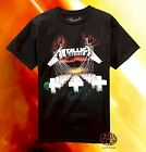 New Metallica Master of Puppets Vintage 1986 Retro Men's T-Shirt  image
