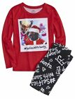 NWT Justice Girls #Selfies w/ Santa 2pc Pajamas Sleep Set UPick Size NEW