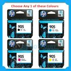 Any 1x HP Genuine #905 BK/C/M/Y/SET Ink Cartridge for Officejet 6950/6960/6970