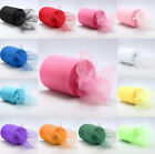 """25YD*6"""" Roll Spool Tutu Tulle Wedding Party Gift Wrap Fabric Craft Decorations"""