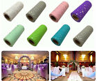 """25YD*6"""" Roll Spool Sequin Tutu Tulle Wedding Party Gift Wrap Fabric Craft"""