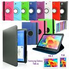 Leather Swivel Folio Case Cover For Samsung Galaxy Tab 3 7.0 7inch T210 P3200