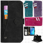 For Samsung Galaxy Luna Premium Slide Out Pocket Wallet Cover +Screen Protector