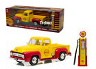 GREENLIGHT 1:18 53 FORD F-100 PICKUP TRUCK WITH SHELL GAS PUMP 12983  NEW