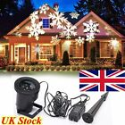Sport Moving Snowflakes Landscape LED Projector Laser Light Waterproof Xmas Lamp