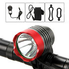 5000Lm XM-L T6 LED Head Torch Front Bicycle Bike Light Headlight  12000mAh Lamp