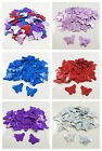 BUTTERFLY 22mm HOLOGRAPHIC SEQUINS EMBELLISHMENTS *7 COLOURS* SEWING CARD CRAFTS