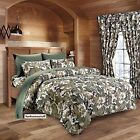 Military Camouflage Camo Pattern Soft Bed Sheet Set Twin and Queen Sizes