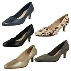 Ladies Clarks Formal/Court Slip On Shoes Style - Isidora Faye