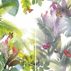 Arthouse Amazonia Butterfly Pattern Wallpaper Forest Leaf Motif Modern Embossed