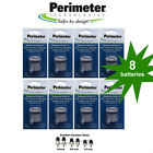 Perimeter Invisible Fence R21 R22 & R51 Dog Collar Batteries (8) & Contacts