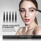Automatic Triangle Waterproof Eyebrow Pencil Pen With Brush Make-Up Tools