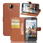 9 Colors Leather Case Flip Wallet Cover Stand Pouch For ARCHOS 55 HELIUM ULTRA