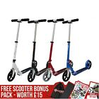 JD Bug Street 200 Folding Adjustable Kids / Adults Scooter + FREE Bonus Pack