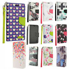 For ZTE Tempo N9131 Premium Leather Wallet Case Pouch Flip Cover + Screen Guard