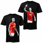 Superstar Football Player in Manchester United Kit T-Shirt