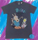New Nickelodeon Rocko's Modern Life Comic Vintage Men's Heather Retro T-Shirt