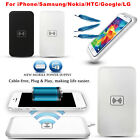 Qi Wireless Fast Charger Charging Pad For Samsung Galaxy S6 Edge Note 5 Nexus 4