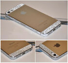 2xManière iPhone 55s bumper Side LUXE PAILLETTE Bling Strass Sticker Autocollant