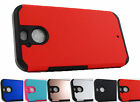 for HTC Bolt Astro Rugged Hybrid Case Phone Cover Accessory + Prytool