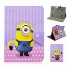 Shockproof Comic Cartoon  Leather Case Cover For Universal 7 Inch Tab Tablet