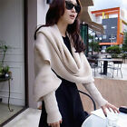 Women's Summer/Winter Sleeve Scarves Scarf Stole Lilght Weight New