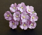 Mulberry Paper Flowers 10 x SWEETHEART BLOSSOMS 15mm - Cardmaking & Crafts