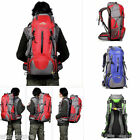 50L Hiking Backpack Camping Mountaineering Climbing Knapsack with Rain Cover