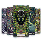 HEAD CASE DESIGNS AZTEC ANIMAL FACES SERIES 6 SOFT GEL CASE FOR NOKIA LUMIA 830