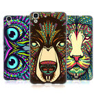 HEAD CASE DESIGNS AZTEC ANIMAL FACES SOFT GEL CASE FOR HUAWEI Y6 HONOR 4A