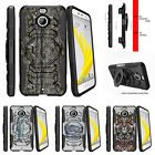 For HTC Bolt | HTC 10 Evo Clip Holster Stand Case Skinny Tree Branch Camo