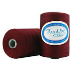100% COTTON THREAD ALL PURPOSE SEWING LONG STAPLE 1000M SPOOLS 40 COLORS 50/3 фото
