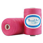 100% COTTON THREAD ALL PURPOSE SEWING LONG STAPLE 1000M SPOOLS 40 COLORS 50 /3