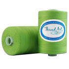 100% COTTON QUILTING THREAD 1000M BY THE SPOOL - 50 COLORS AVAILABLE