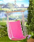KIDS CHILD YOUTH HAMMOCK WITH CARRY BAG CASE SWING CHAIR FURNITURE GREEN or PINK