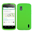For LG Google Nexus 4 Silicone Skin Rubber Soft Case Phone Cover