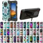 For Samsung Galaxy S7 ACTIVE G891 Design Turbo Layer Hybrid Kickstand Case Cover