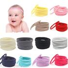 10x Unisex Girls Baby Kids Elastic Cotton Headbands Hair Accessories Hairband