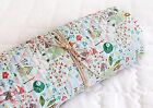 Animal Forest Cotton Ready quilted Fabric Bear Fox Pre-quilted padded (HQ10<