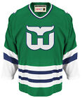 Hartford Whalers Mens CCM Green Hockey Jersey Blank Back L XL
