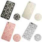 Retro Floral Elephant Cover Hard Phone Soft TPU Case for Apple iPhone 7 7Plus