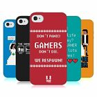HEAD CASE DESIGNS A GAMER'S LIFE SOFT GEL CASE FOR APPLE iPHONE 4 4S
