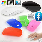 Sottile Bluetooth Mouse Ottico Senza Fili 1600 DPI Per Windows 7/10 Android