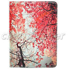 Newest Painted Flip Stand Case TPU Leather Cover For Apple iPad 2 3 4 5 6 Mini