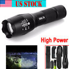 Hot Tactical T6 Zoomable LED Flashlight X800 G700 Torch Lamp+Battery+Charger LOT