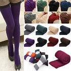 New Ladies Thick Thermal Leggings Tight Winter Warm Women Footless & Foot Tight
